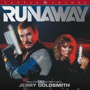 Jerry Goldsmith Original Soundtrack OST Runaway Limited edition CD front cover image picture