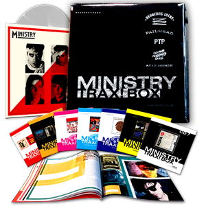 Ministry Trax! Box Record Store Day RSD 2015 front cover image picture