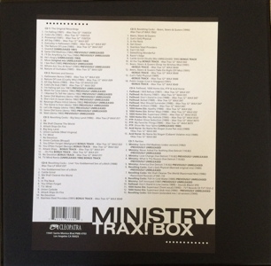 Ministry Trax! Box Record Store Day RSD 2015 unboxing picture number 2