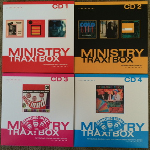 Ministry Trax! Box Record Store Day RSD 2015 unboxing picture number 12