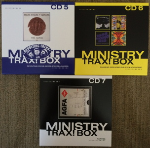 Ministry Trax! Box Record Store Day RSD 2015 unboxing picture number 14