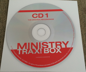 Ministry Trax! Box Record Store Day RSD 2015 unboxing picture number 18