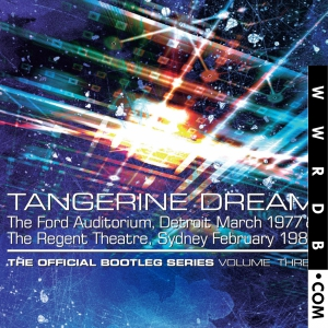 Tangerine Dream The Official Bootleg Series Volume Three Box Set primary image photo cover