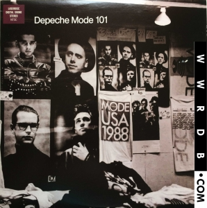 Depeche Mode 101 Video primary image photo cover